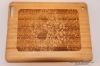 Деревянный чехол для iPad2/3 с рисунком цветка